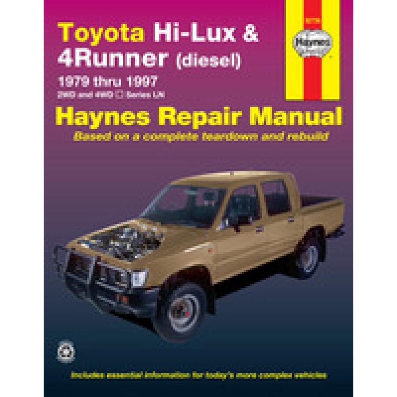 Toyota Hi Lux 4x4  4x2 Diesel Toyota 4 Runner Diesel 1979