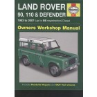 Defender W/Shop Manual