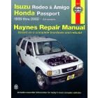 Isuzu Rodeo, Amigo, and Honda Passport Haynes Repair Manual