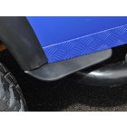 Dirt D-Fenders - Front of rear wheel