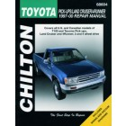 Toyota Tacoma, Land Cruiser & 4Runner Chilton Repair Manual