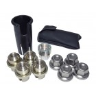 Range Rover P38 Locking wheel Nuts and Key Kit