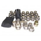 Discovery 2 Locking wheel Nuts and Key Kit