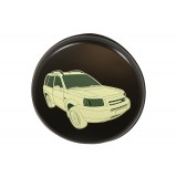 Wheel Cover Hard Plastic With Logo Freelander 1