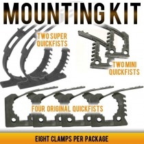 Quick Fist Rubber Clamp Mounting Kit