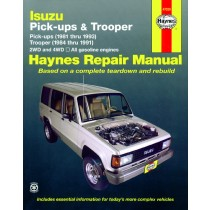 Isuzu Pick-up, Trooper and Trooper II Haynes Repair Manual