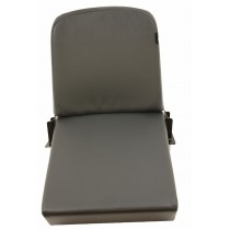 Seat Rear Fold Up Vinyl Grey