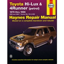 Toyota Hi Lux 4x4, 4x2 Petrol Toyota 4 Runner Petrol 1979-1997
