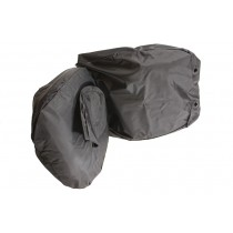 Front Pair Waterproof Seat Covers Black