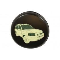 Wheel Cover Hard Plastic With Logo Freelander 1