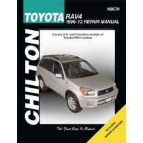 Toyota RAV4 Chilton Repair Manual for 1996-10